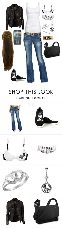 """""""Dylan's Outfit"""" by jastin1496 ❤ liked on Polyvore featuring Diesel, Swarovski, Vegetarian Shoes, Charlotte Russe, Nokia, MuuBaa, High Fashion and Briggs & Riley"""