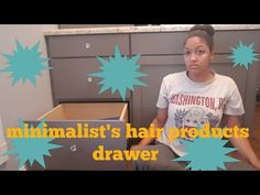 CLEAN WITH ME|hair care drawer - YouTube