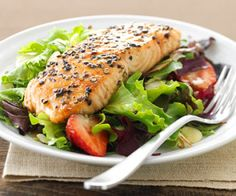 Yummy and Healthy Salmon!