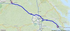 Driving Directions from Charlottesville, Virginia to Williamsburg, Virginia   MapQuest