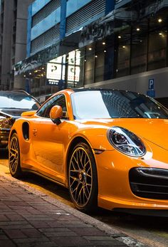Porsche 911 Turbo *i love it, love the colour, love the sound of..* :-)