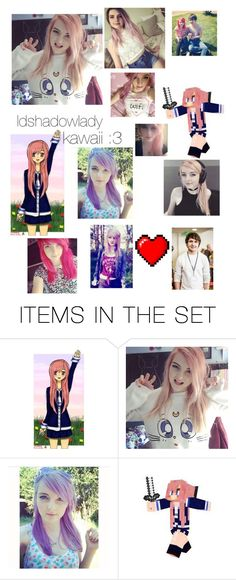 """""""ldshadowlady :3"""" by pandaderpienes ❤ liked on Polyvore featuring art"""