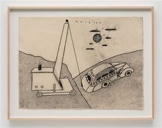 """Machine"" David Lynch, 2013"