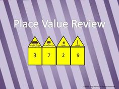 Review place value to the thousands place with this fun PowerPoint. $2