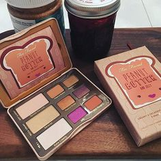 Peanut Butter And Jelly  TooFaced!!! Eyeshadow Palette @ Ulta Beauty Exclusive $36 (smells like peanut butter)