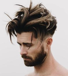 7 long top taper fade hairstyle