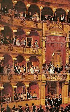 Il Teatro dell'Opera di Roma acclama i reali d'Inghilterra (The Teatro dell'Opera di Roma acclaims the Royals of England) ROME, ITALY