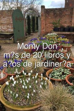 Monty Don Longmeadow m�s de 20 libros y 50 a�os de jardiner�a#807 Monty Don Longmeadow, Hydraulic Cars, Garden Projects, Rv, Outdoor Structures, City, Vehicles, Window Boxes, Libros