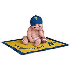 West Virginia Mountaineers #1 Fan Baby Doll Collection