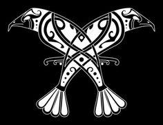 heartwoodheathen: Huginn and Muninn