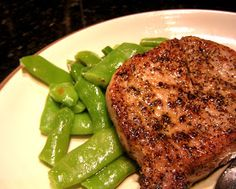 Boston Chef: Perfect Pork Chop  The easiest and best way to cook pork chops!! :) my go to method!