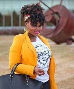 Chary Jay ~ natural hair icon