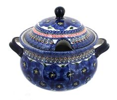 Polish Pottery Blue Art Soup Tureen * Wow! I love this. Check it out now! : bakeware