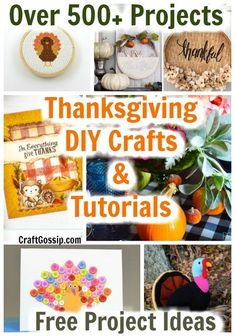 Our ideas are curated by our editors on a daily basis! Come see what are the best ideas available today. #thanksgiving #crafts #diy