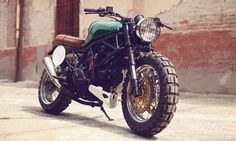 Ducati...I like it with the badass, go-anywhere tires!