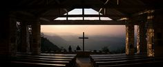 Fred W. Symmes Chapel at Sunrise by rc.photo, via Flickr
