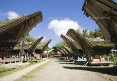 Casa de Toraja, na Indonésia - Pesquisa Google