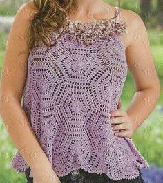 tunika   Kraina wzorów szydełkowych...Land crochet patterns..