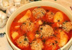 Тефтели с нежным картофелем Ингредиенты: -0.5 кг фарша -3 луковицы -100 гр риса -3 зубчика чеснока -7-8 крупных картофелин -2 морковки -1 болгарский перец -2 ст. ложки томатной пасты - соль, перец,...
