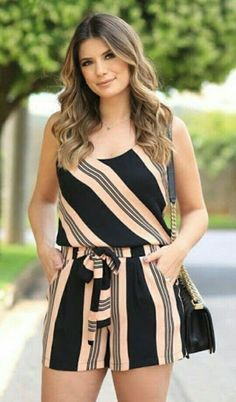 Swans Style is the top online fashion store for women. Shop sexy club dresses, jeans, shoes, bodysuits, skirts and more. Casual Outfits, Cute Outfits, Cute Rompers, African Fashion, Casual Looks, Plus Size Fashion, Fashion Dresses, Fashion Clothes, Womens Fashion