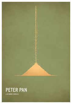 Peter Pan | 19 Minimalistic Posters Of Your Favorite Childhood Stories