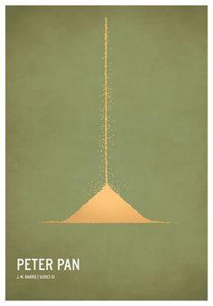 Minimalist poster: Peter Pan