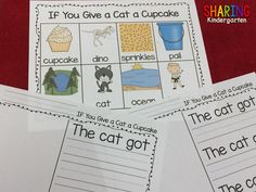 http://www.teacherspayteachers.com/Product/If-You-Give-a-Cat-a-Cupcake-Unit-316946