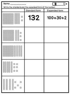 Place Value Worksheets worksheet Place Value Worksheets for Grade Place Value Worksheets, First Grade Math Worksheets, Math Place Value, Second Grade Math, Place Values, Grade 2, Math Lesson Plans, Math Lessons, Spanish Lessons