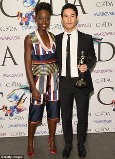 Fashion forward: For once the designers were front and centre as Joseph Altuzarra received...