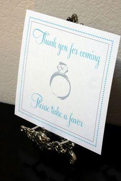 Paperbox Press Parties: Tiffany Blue Bridal Shower from Paperbox Press Parties!