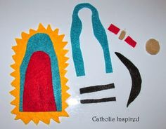 Crafts lady and ideas on pinterest for Our lady of guadalupe arts and crafts