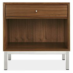Delano Wood Nightstands - Modern Nightstands - Modern Bedroom Furniture - Room & Board