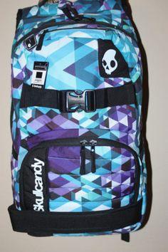 ca663771f45 Skullcandy-backpack-blues-purple-multicolor-New-computer-holder
