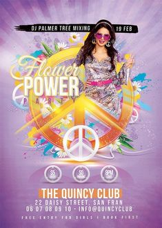 Buy Peace Party Flower Power by on GraphicRiver. Peace Party Flower Power is a flyer for any retro, sixties-inspired, disco, (seventies-related), hippie st. Graphic Design Flyer, Flyer Design, Flower Power Party, Halloween Flyer, Golf Theme, Event Flyer Templates, Event Flyers, Club Parties, Party Flyer