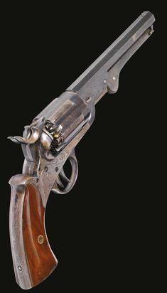 John Walch Fire Arms Co., 12-shot Super-Posed Load Navy Model Revolver, Serial No. 79, circa 1859-1860.