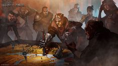 Dragon Age: Inquisition Concept Art and Illustrations by Matt Rhodes