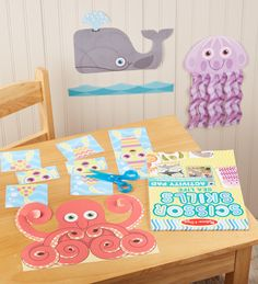This creative and practical ocean-themed activity pad is a cut above for kids who are developing fine motor skills! Melissa and Doug's Sea Life Scissor Skills gives an engaging, creative direction to scissor work, meaning more concentration and less mess.   #openendedplay #openendedtoys #montessori #educationaltoys #scissorskills #DIY #artsandcrafts #crafts #craftsforkids #melissaanddoug #powerofplay