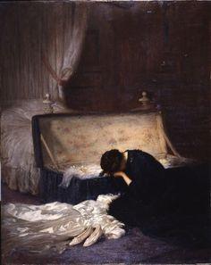 """The Wedding Dress""  Fred Elwell"