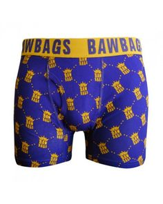 BAWBAGS ROYAL BOXER SHORTS. Bawbags Royal Boxer Shorts there's been a lot of royal interest lately, with everyone wanting to know when the royal baws would be released. Well the wait is over they are here. 95% Premium cotton, 5% Elastane, Front side chopper access, Jacquard waistband. £12.49. Available at urbansurfer.co.uk