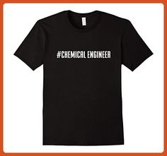 Mens Hashtag Chemical Engineer T-Shirt - #Chemical Engineer Shirt 3XL Black - Careers professions shirts (*Partner-Link)