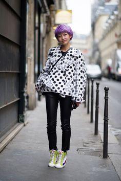 アジアのスナップクィーン★fil xiaobaiフィルシャオバイ の画像|海外ストリートスナップ、ファッションスナップ - Snapmee(スナップミー)