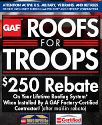 The Roofing and Remodeling Company-Roofs for Troops - Online Military Discounts and Deals | MilitaryBridge