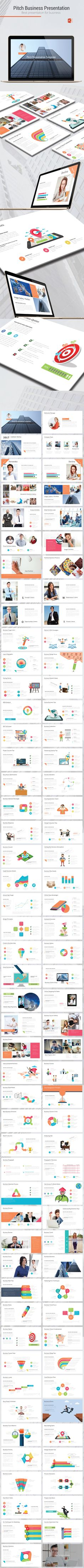 Pitch Business Presentation - Pitch Deck #PowerPoint Templates Download here:  https://graphicriver.net/item/pitch-business-presentation/19392952?ref=alena994