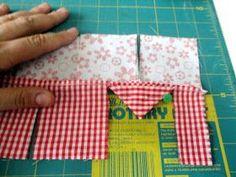 Dandolinhas: costurando ideias, tecendo comentários Owl Embroidery, Creative Embroidery, Sewing Basics, Sewing Hacks, Tutorial Patchwork, Prairie Points, Sunflower Quilts, Applique Stitches, Quilt Border