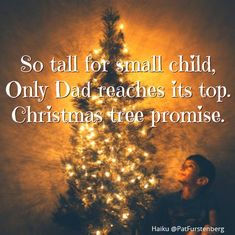 Christmas Tree and Saint Nicholas, two Christmas Haiku So tall for small child, Only Dad reaches its top. ~ 6 December holds a special place and my heart, it brings the firs… Haiku, Short Poems, Saint Nicholas, Saints, Writer, Dads, Christmas Tree, Shoe, Gift