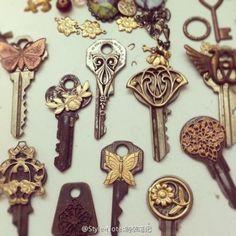 beautiful key