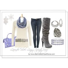 """""""Creamy Lavender"""" by behindmypicketfence on Polyvore"""