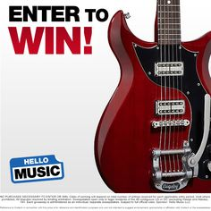 Hello Music is giving away a Gretsch G5135 Electromatic Corvette Guitar!   Giveaway ends January 31, 2015 at 11:59pm CST and the winner will be announced on February 2nd. GOOD LUCK!!   http://woobox.com/bm8uby?source=pin