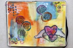 great color and creativity for scrapbook