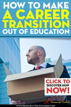 Are you leaving teaching for a corporate or business job and career? If you are, you need a strong strategy to get results.when changing careers there are certain steps you should take to ensure a seamless transition. http://resumes-for-teachers.com/blog/changing-careers/leaving-teaching-for-a-corporate-or-business-job-and-career/